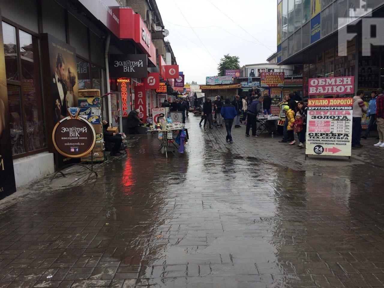 В Запорожье затопило Центральный рынок, — ФОТО, фото-4