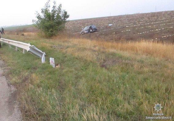 Под Запорожьем в ДТП погиб человек, трое — в больнице, — ФОТО, фото-2