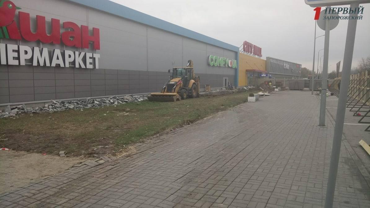 """В Запорожье приступили к строительству нового """"McDonald's"""", - ФОТОРЕПОРТАЖ, фото-4"""