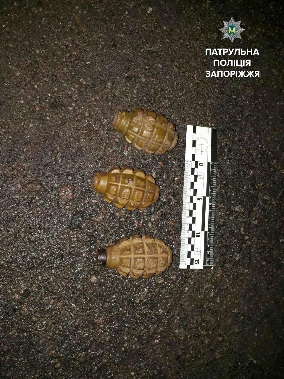 В Запорожье по городу ходил мужчина с тремя гранатами, – ФОТО, фото-2