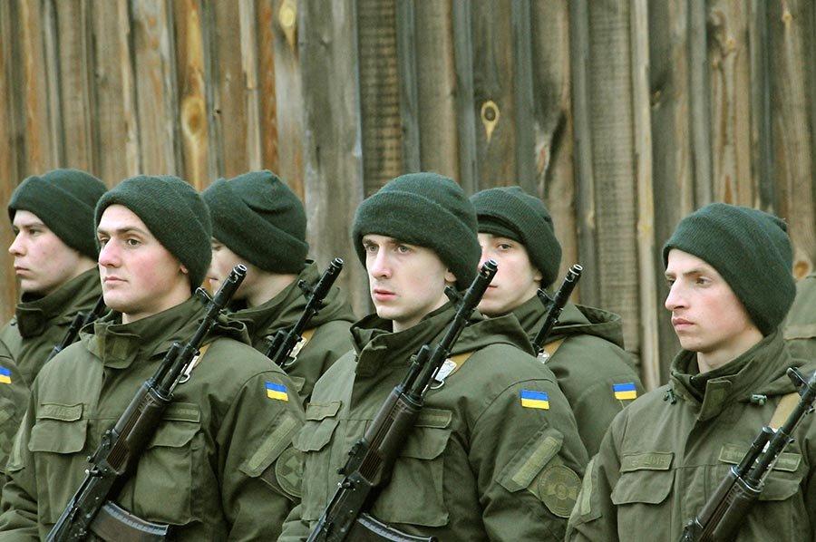 Новобранцы Нацгвардии Украины приняли присягу на острове Хортица, - ФОТО, фото-2