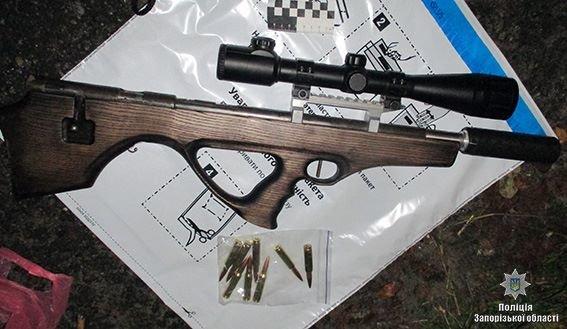 В Запорожской области мужчина хранил в авто самодельную винтовку, - ФОТО, фото-2