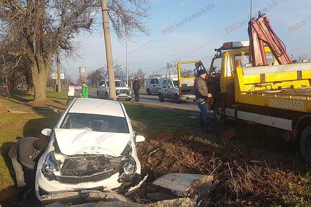 В Запорожской области авто вылетело с дороги: водитель уснула за рулем, — ФОТО, ВИДЕО, фото-1