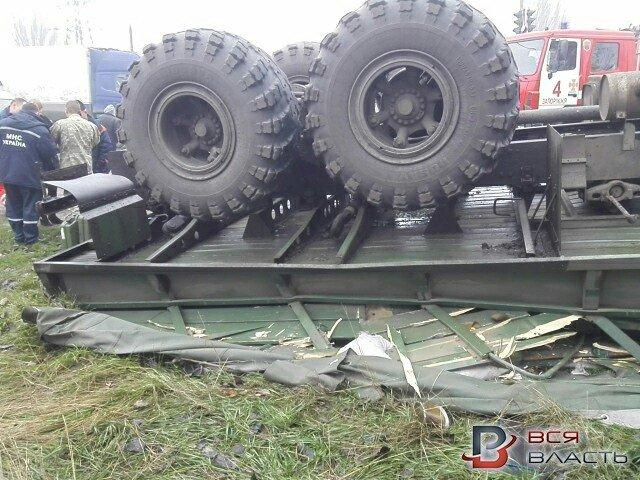 В Запорожье перевернулось авто с военными: погиб водитель, - ФОТО, фото-7