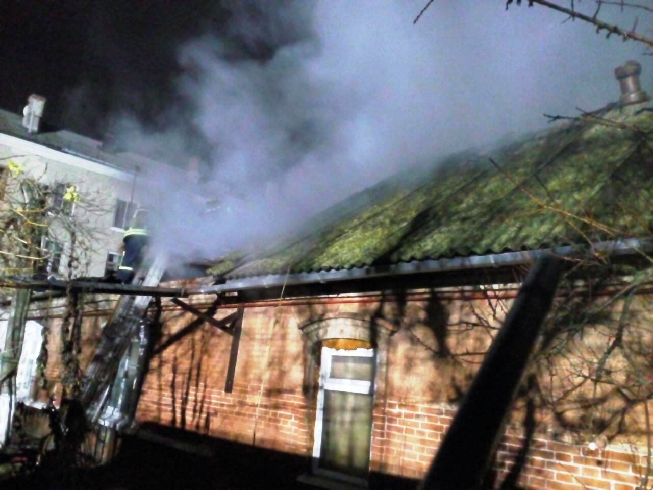 В Бердянске пожар в частном доме тушили 16 спасателей, – ФОТО, фото-1