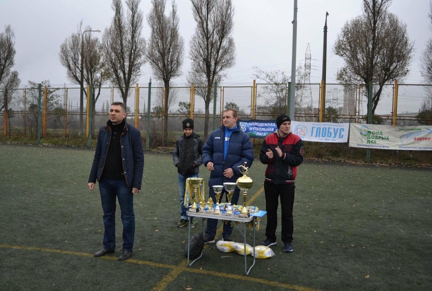 Молодежная футбольная Лига Запорожья успешно завершила свой летний сезон при финансовой поддержке мецената Александра Богуслаева, фото-11