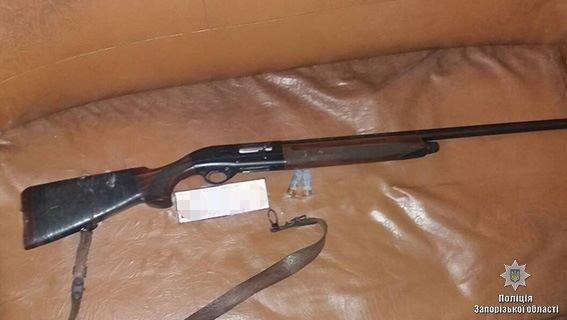 В Запорожской области преступник открыл огонь из ружья по двум мужчинам, - ФОТО, фото-1