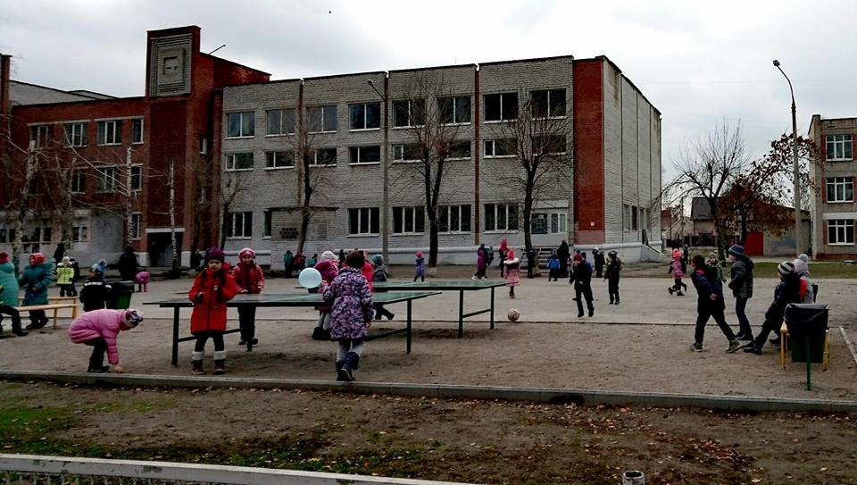 В Бородинском районе новый школьный стадион закрыли на замок, - ФОТО, фото-2
