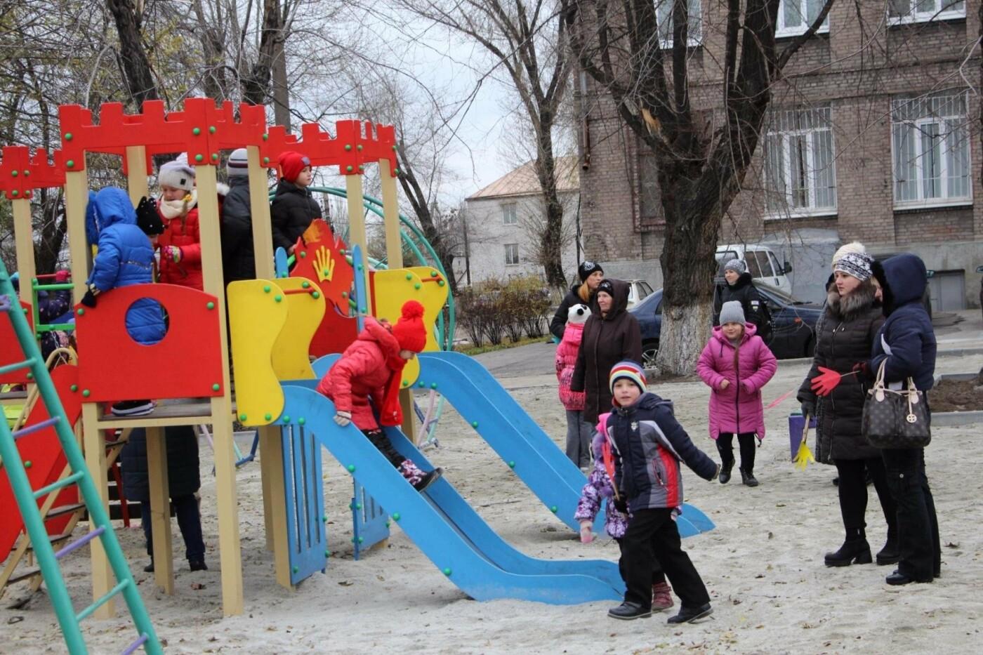 В школе Заводского района открыли очередной стадион, - ФОТО, фото-7