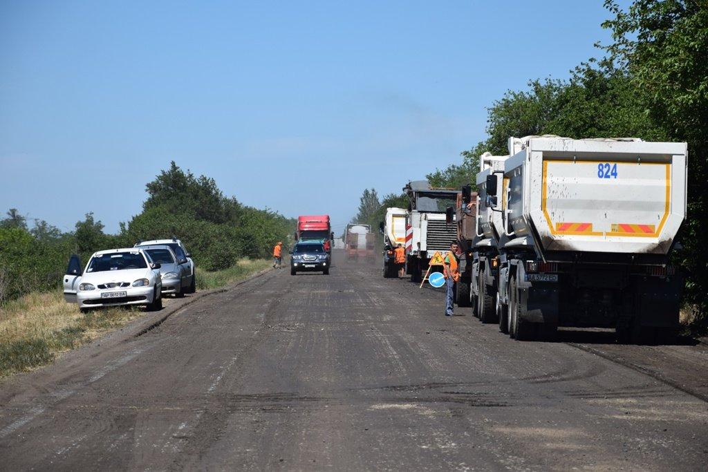 В Запорожской области начали ремонт дороги в сторону Бердянска: что уже сделали подрядчики, – ФОТО, фото-5