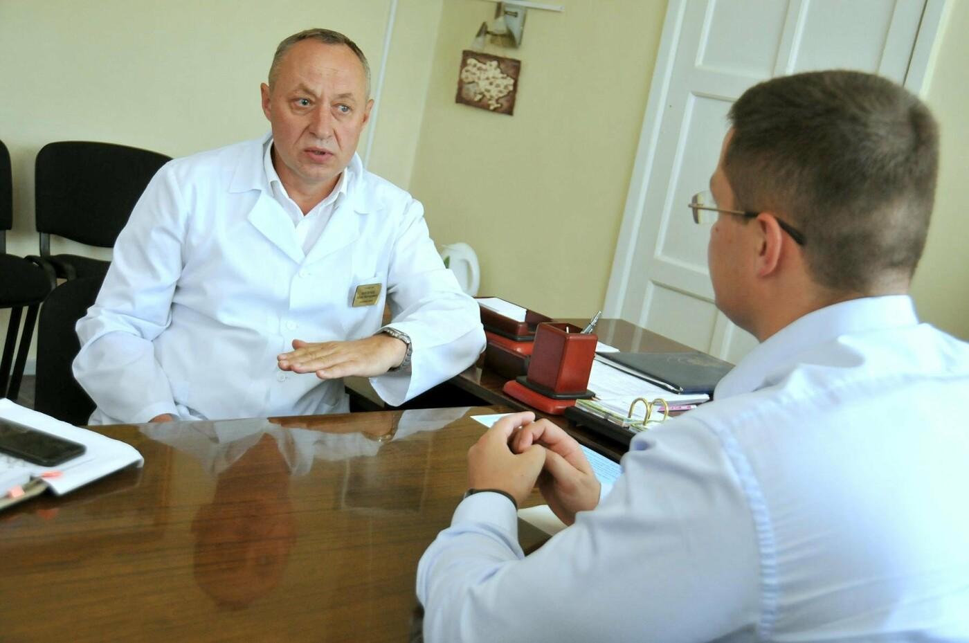 Владислав Марченко: Через месяц в областной детской больнице начнется демонтаж и строительство нового хирургического блока, фото-1