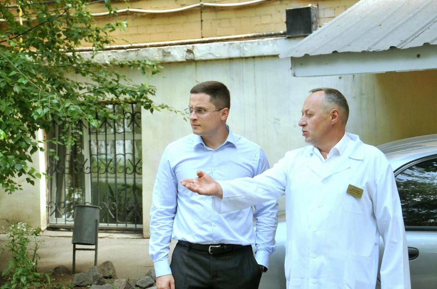 Владислав Марченко: Через месяц в областной детской больнице начнется демонтаж и строительство нового хирургического блока, фото-8