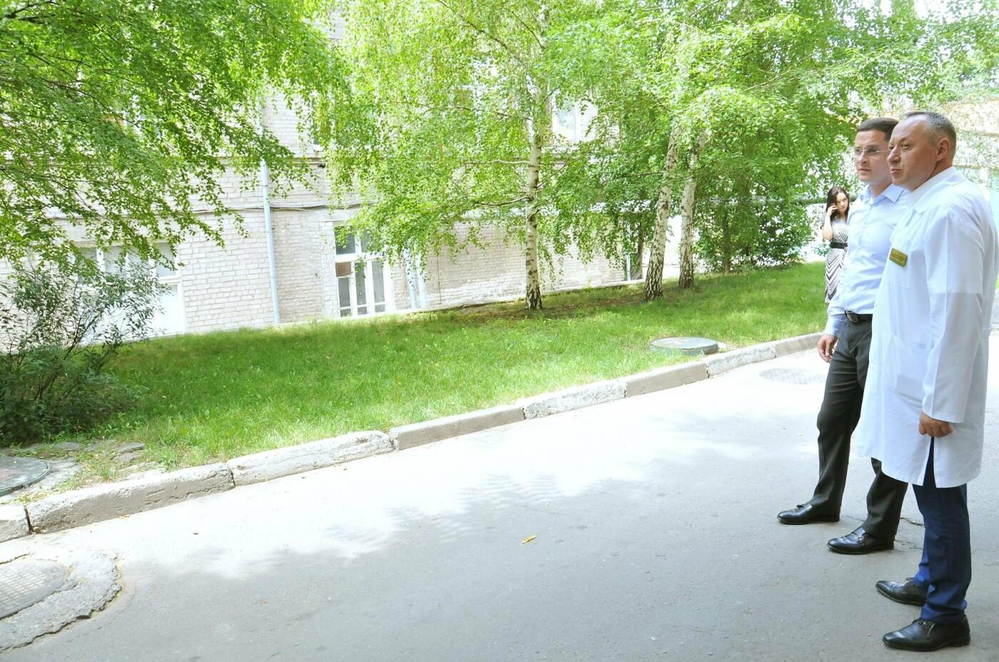 Владислав Марченко: Через месяц в областной детской больнице начнется демонтаж и строительство нового хирургического блока, фото-13