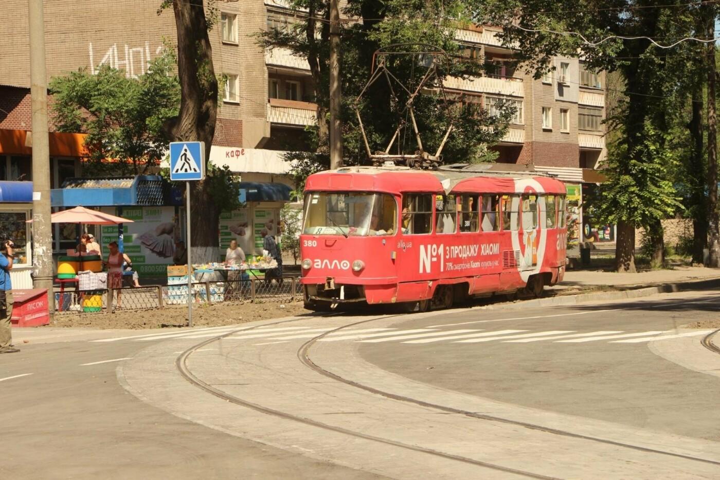 В Запорожье заканчивают ремонт-долгострой трамвайного пути на Кичкасе, – ФОТО, фото-4