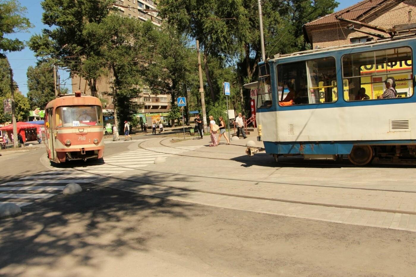 В Запорожье заканчивают ремонт-долгострой трамвайного пути на Кичкасе, – ФОТО, фото-2