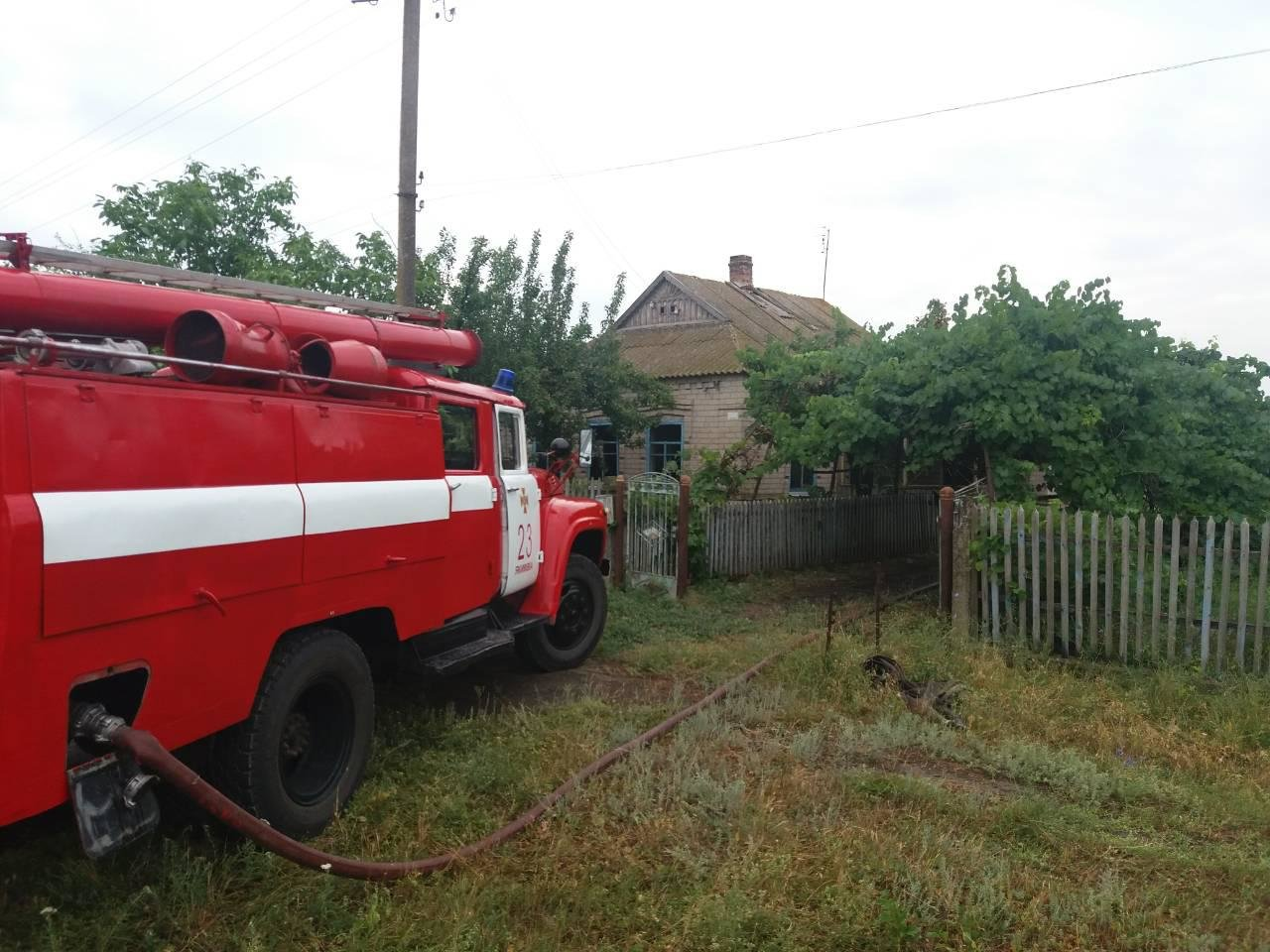 В Запорожской области в пожаре погиб мужчина, – ФОТО, фото-1