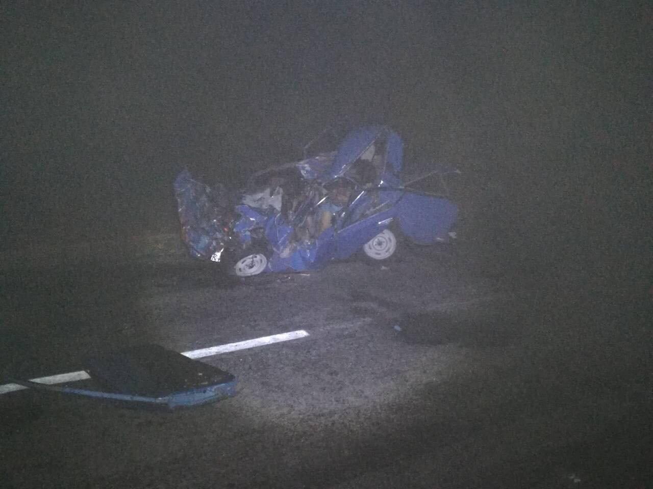 В Запорожской области легковушка столкнулась с грузовиком: два человека погибли, один – в больнице, – ФОТО, фото-4