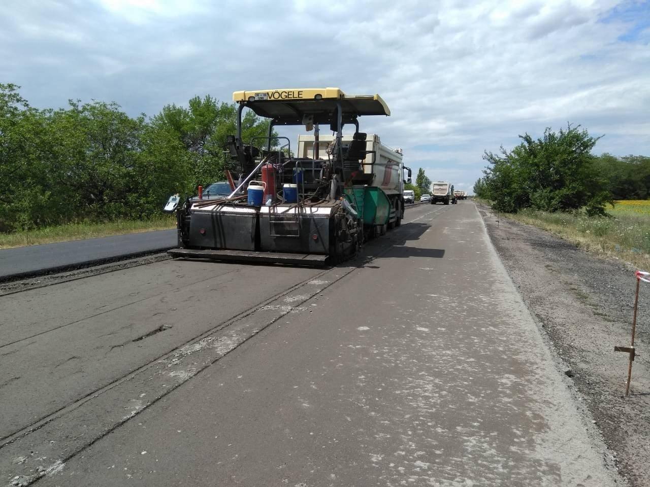 В Запорожской области продолжается ремонт трассы на Мариуполь: что уже сделали подрядчики, – ФОТО, фото-1