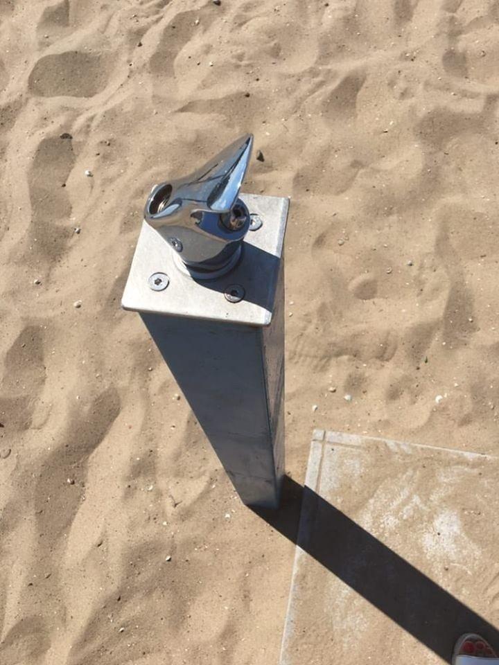 В Запорожье вандалы сломали на центральном пляже половину фонтанчиков для питья и моек для ног, – ФОТО, фото-4