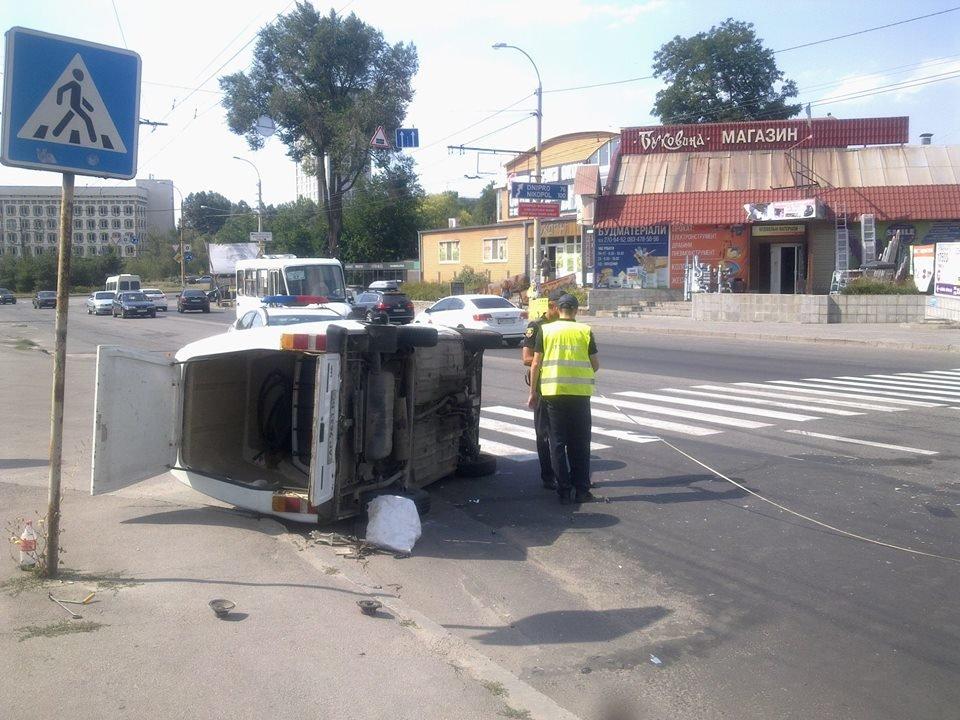 В Запорожье на Каховской перевернулся автомобиль, – ФОТО, фото-2