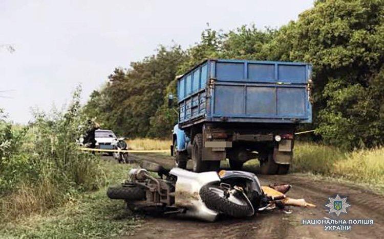 В Запорожской области мотоциклист попал в смертельное ДТП с грузовиком, – ФОТО, фото-1