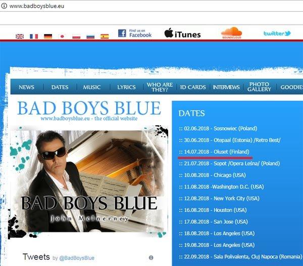 Bad Boys Blue, выступившие на День металлурга в Запорожье, были не совсем настоящими, фото-1