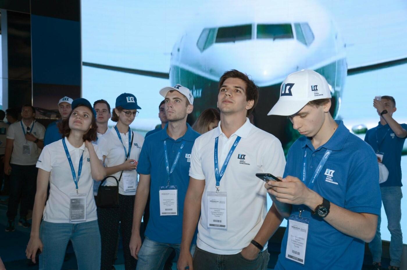 Фонд Бориса Колесникова показал авиаторам Запорожья крупнейший авиафорум в Лондоне, фото-1