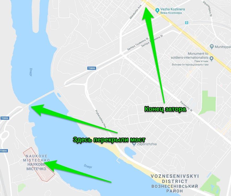 Стихийный митинг в Запорожье приостановил движение в центре: что происходит, фото-1