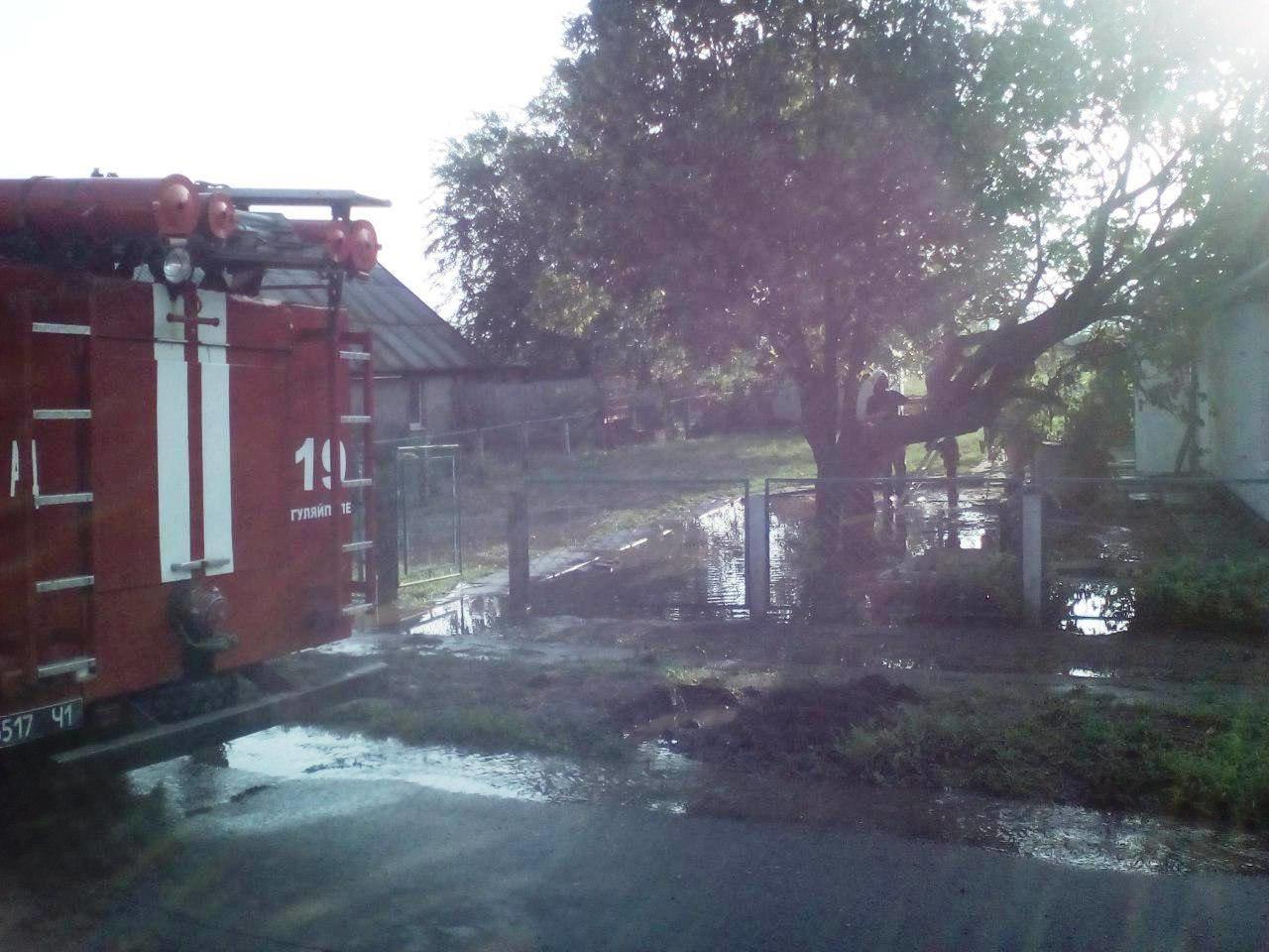 В Запорожской области за час затопило 77 домов, - ФОТО, фото-2