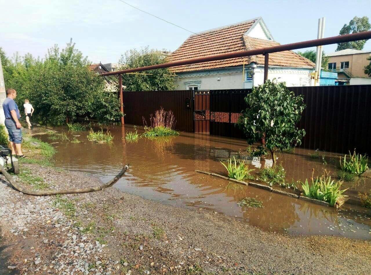 В Запорожской области за час затопило 77 домов, - ФОТО, фото-3