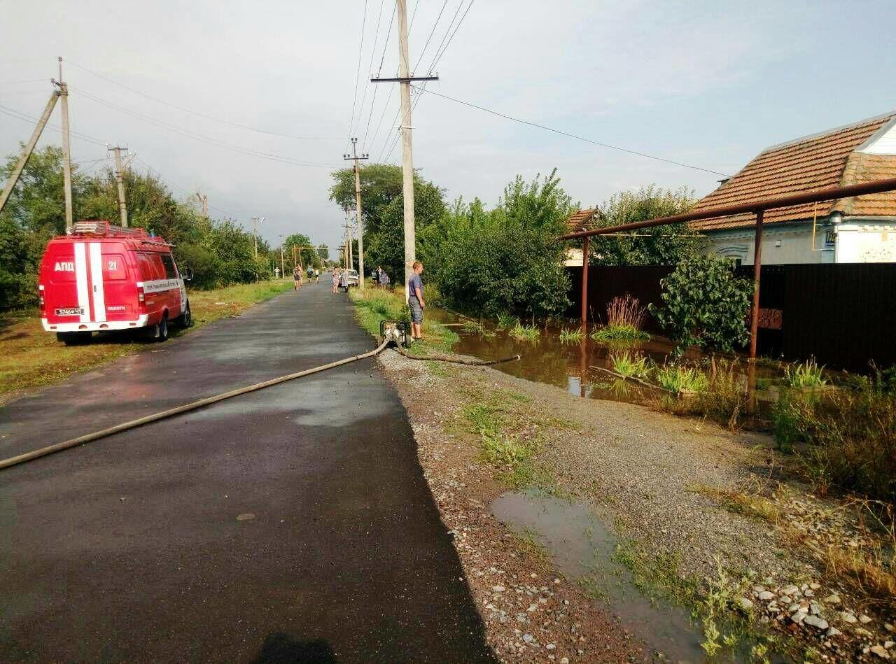 В Запорожской области за час затопило 77 домов, - ФОТО, фото-4