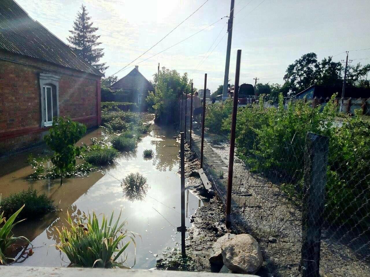 В Запорожской области за час затопило 77 домов, - ФОТО, фото-5