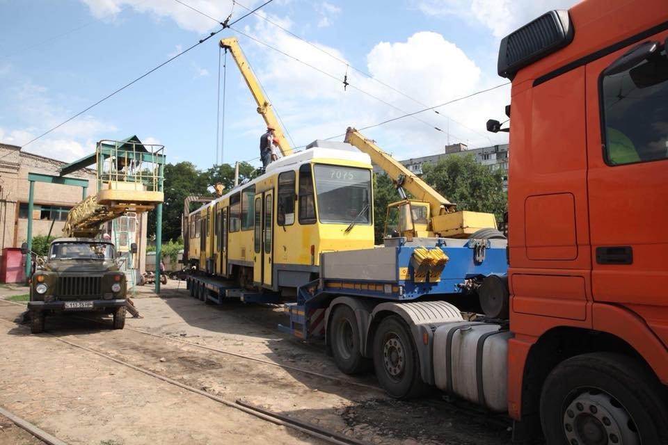 В Запорожье на маршруты выйдут три трамвайных вагона из Европы, – ФОТО, фото-2