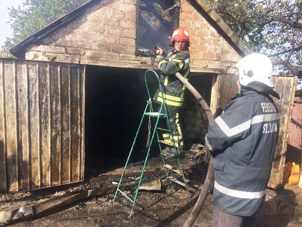 В Запорожской области потушили большой пожар в частном дворе, – ФОТО, фото-2