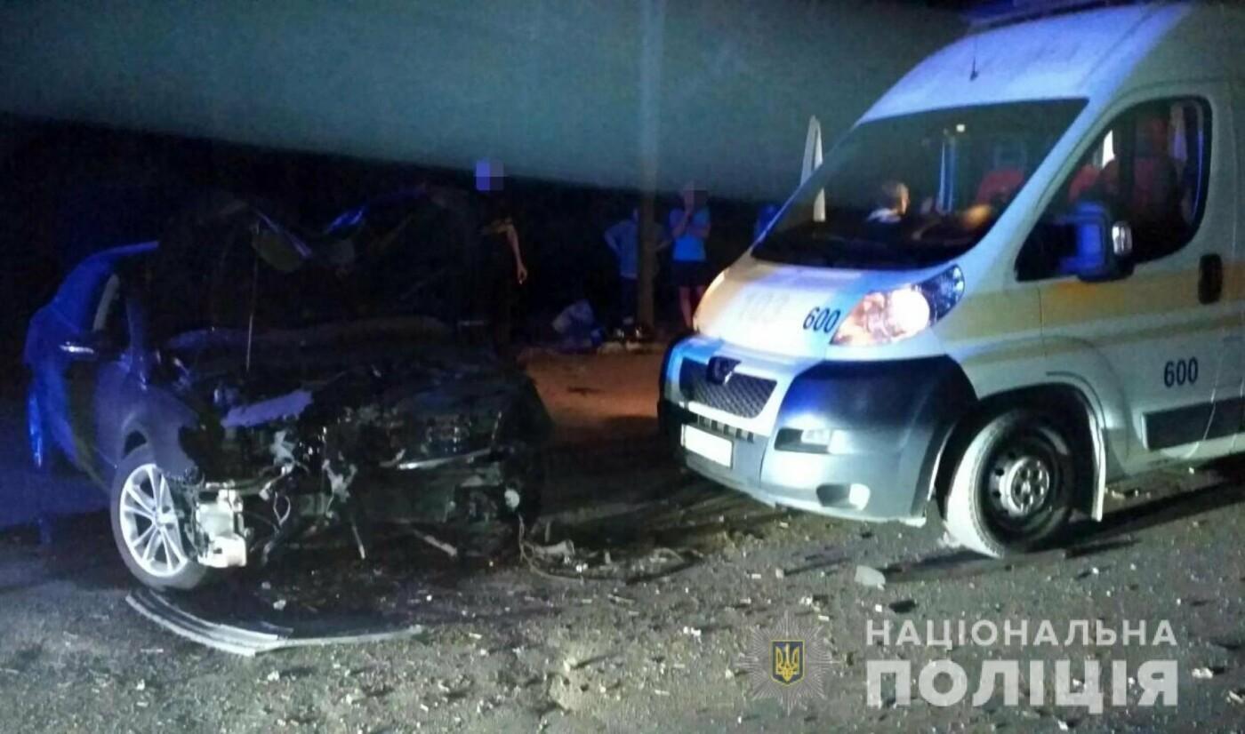 В Запорожье произошла авария по дороге на Великий луг – трое пострадавших, – ФОТО, фото-1