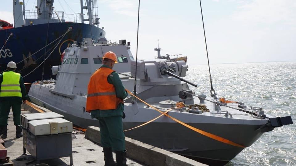В Бердянском порту на воду спустили два первых бронекатера ВСУ, – ФОТО, фото-4