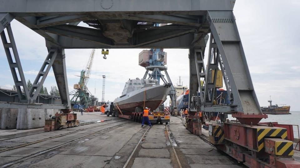В Бердянском порту на воду спустили два первых бронекатера ВСУ, – ФОТО, фото-5