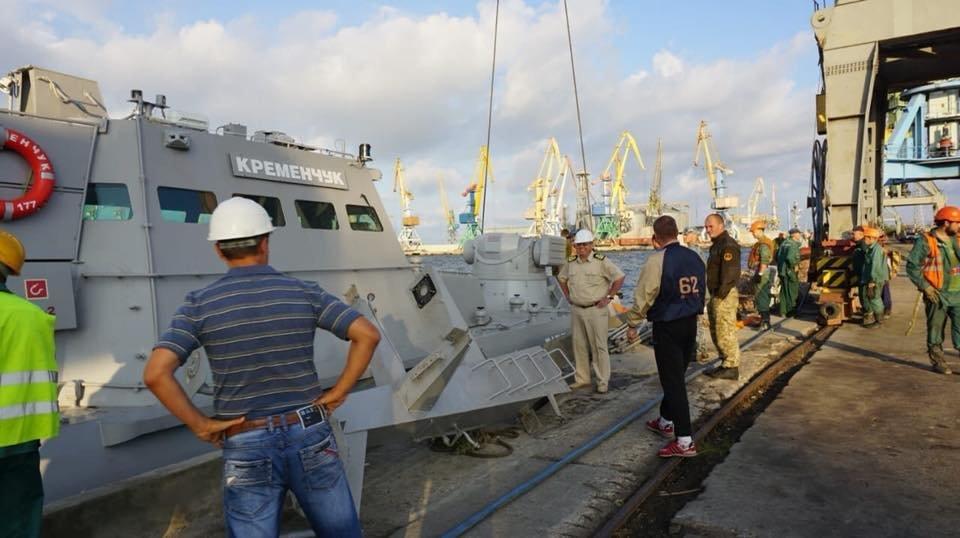 В Бердянском порту на воду спустили два первых бронекатера ВСУ, – ФОТО, фото-2