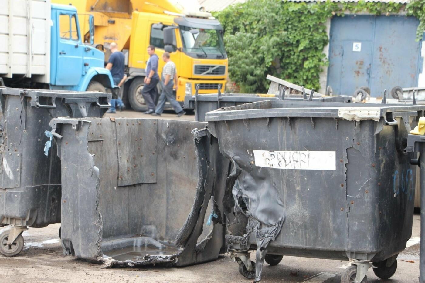 В Запорожье за три недели неизвестные сожгли 38 мусорных баков, – ФОТО, фото-2