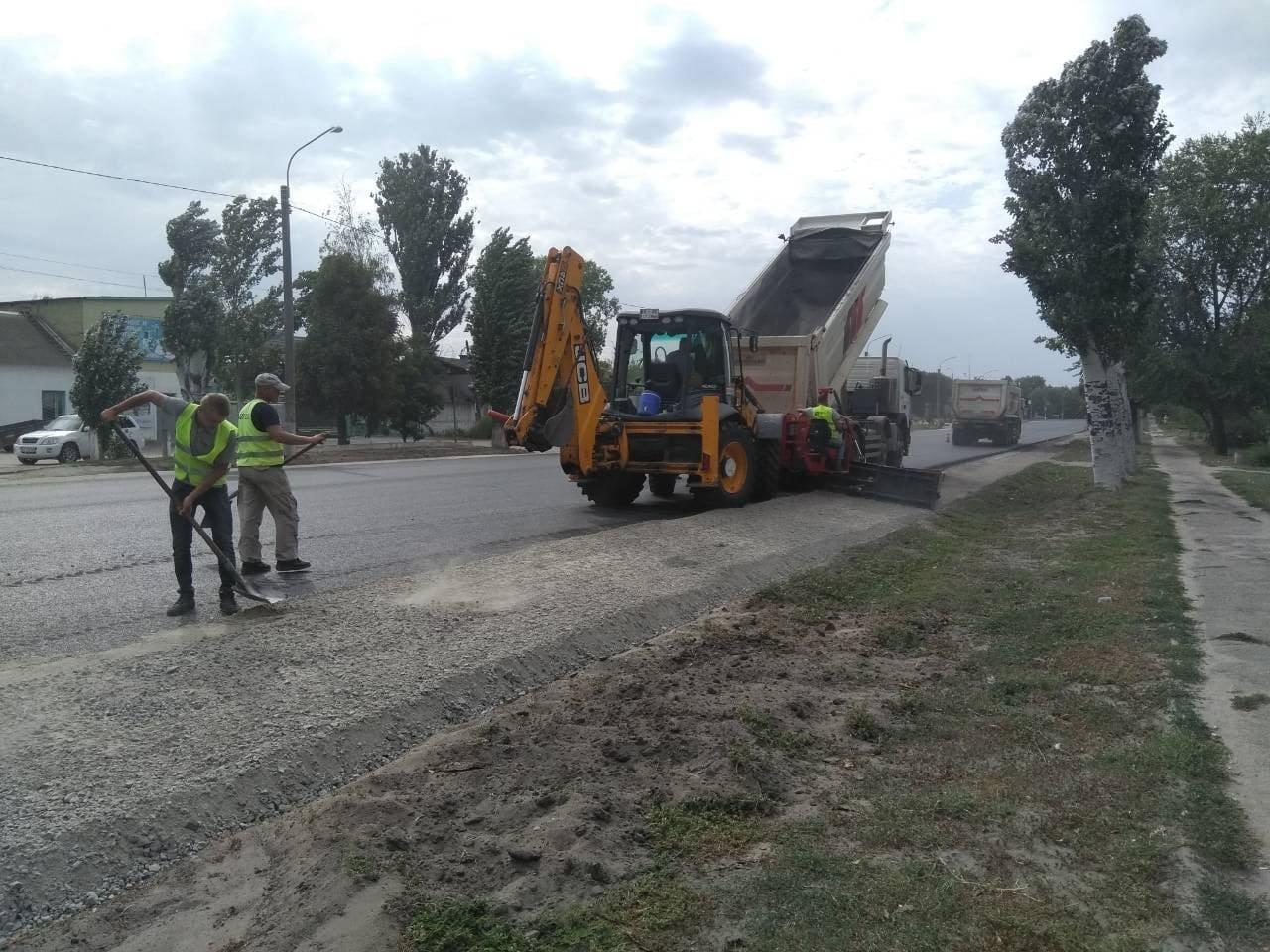 В Запорожской области продолжают ремонт трассы в Мариуполь: на каком этапе работы, – ФОТОРЕПОРТАЖ, фото-3
