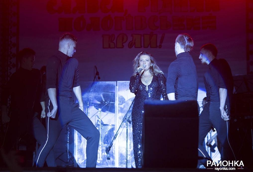 Наталья Могилевская перепугалась из-за багажа и все же выступила в Пологах, - ФОТОРЕПОРТАЖ, фото-9