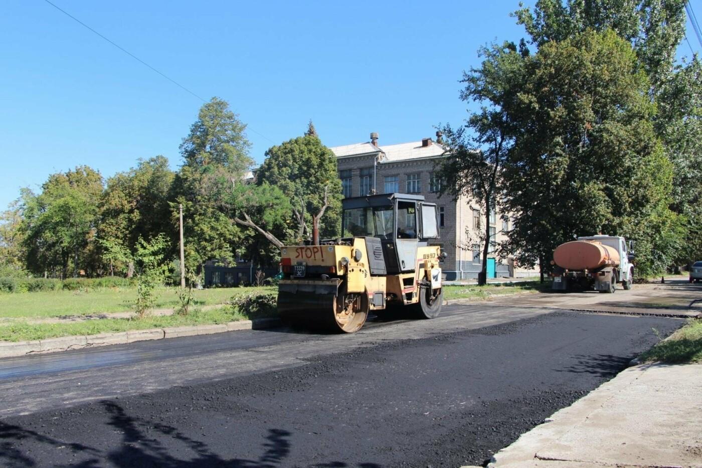 Как в Запорожье ремонтируют асфальт на улице Памирской, – ФОТОРЕПОРТАЖ, фото-5