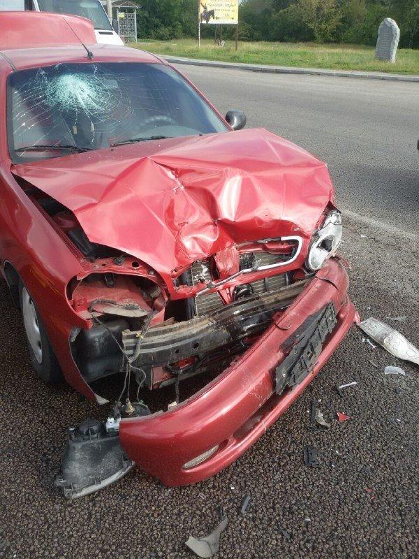 В Запорожье на Хортице водитель врезался в припаркованный Ланос, – ФОТО, фото-4