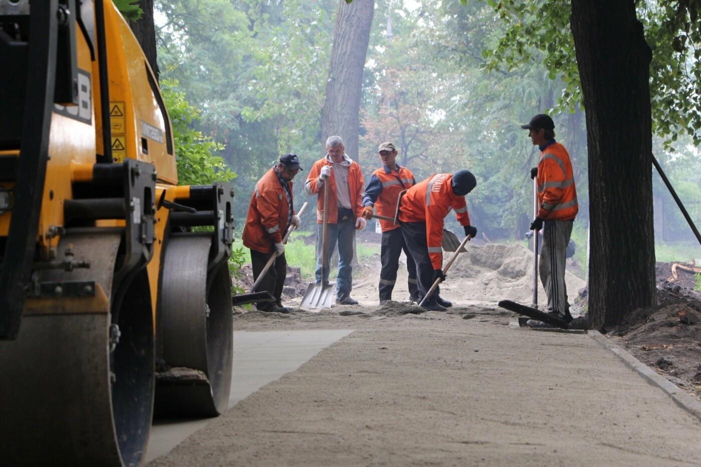 В Запорожье ремонтируют тротуары в районе проспекта Металлургов, - ФОТО, фото-3