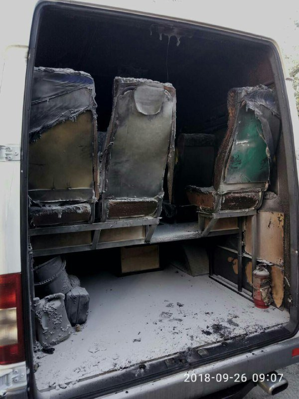 «За поджогом могут стоять наши конкуренты»: в Запорожье ночью сожгли еще один автобус компании «БасТур», – ФОТО, фото-4