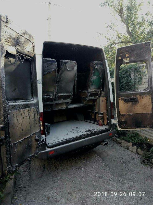 «За поджогом могут стоять наши конкуренты»: в Запорожье ночью сожгли еще один автобус компании «БасТур», – ФОТО, фото-1