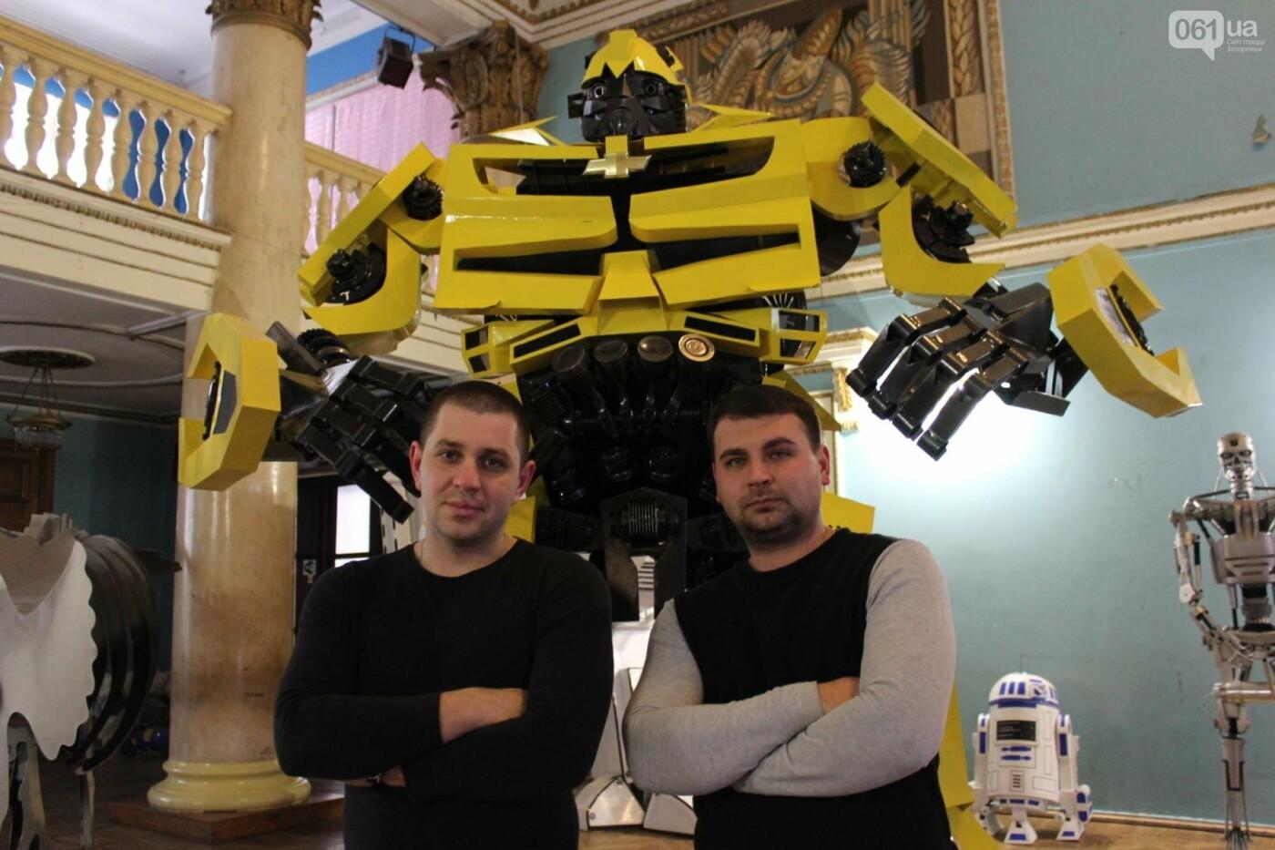 Запорожцы, которые создают роботов-киногероев, установили рекорд Украины, – ФОТО, фото-1