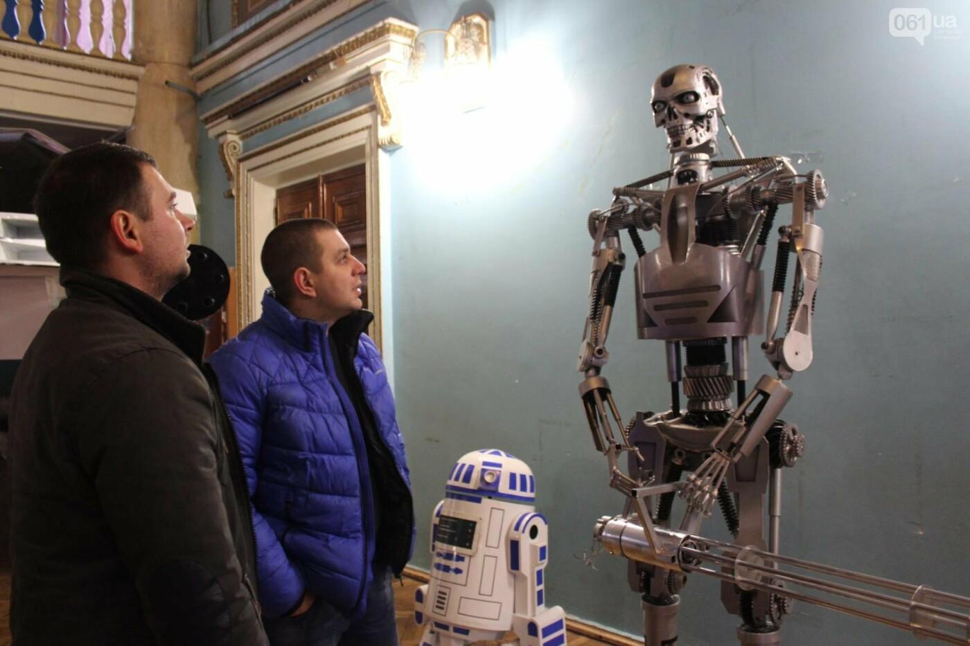 Запорожцы, которые создают роботов-киногероев, установили рекорд Украины, – ФОТО, фото-2