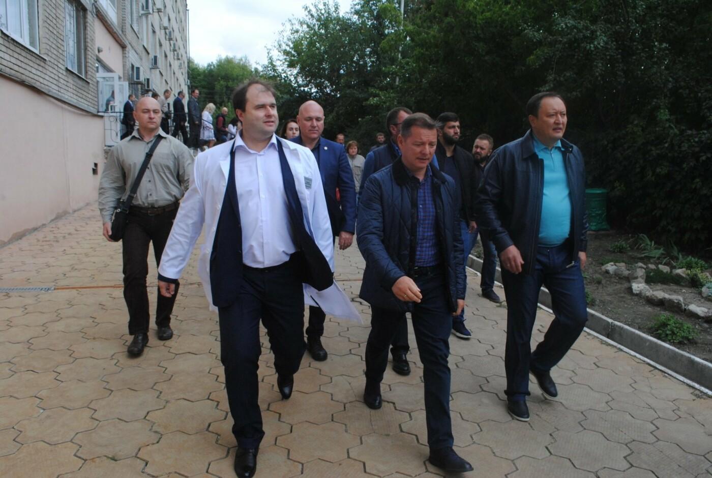 Олег Ляшко поддерживает финансирование запорожского онкологического диспансера, - ФОТО, фото-3