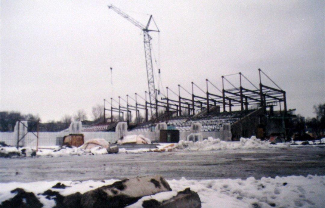 В социальной сети показали, как строили запорожскую «Славутич-Арену», – ФОТО, фото-1